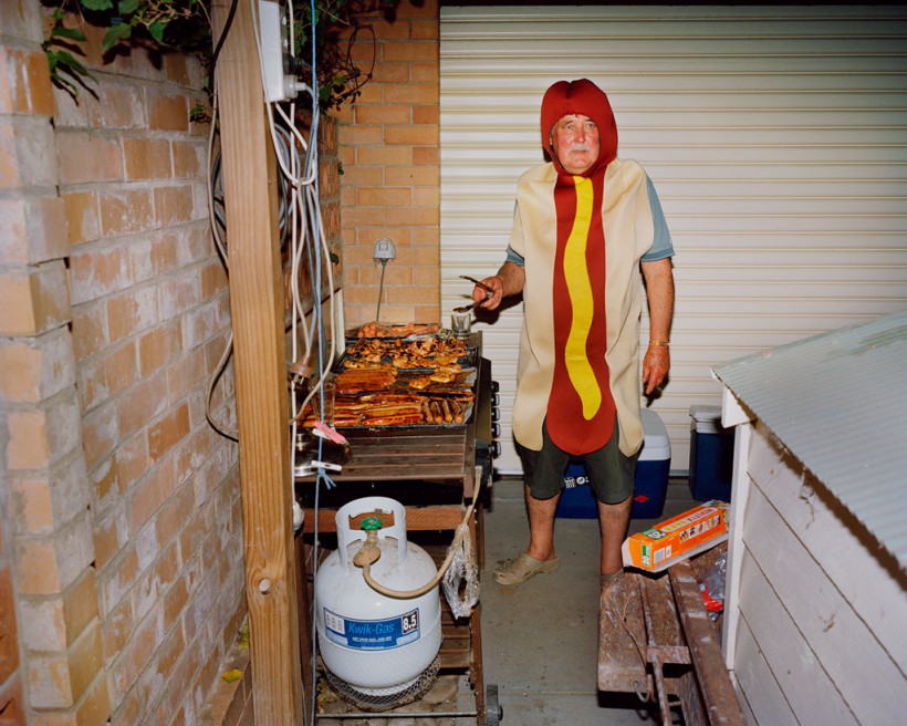 Trent Parke, Hotdog Man, 2008, from The Christmas Tree Bucket, Pigment print, 72 x 90 or 32 x 40 cm, ed. of 8