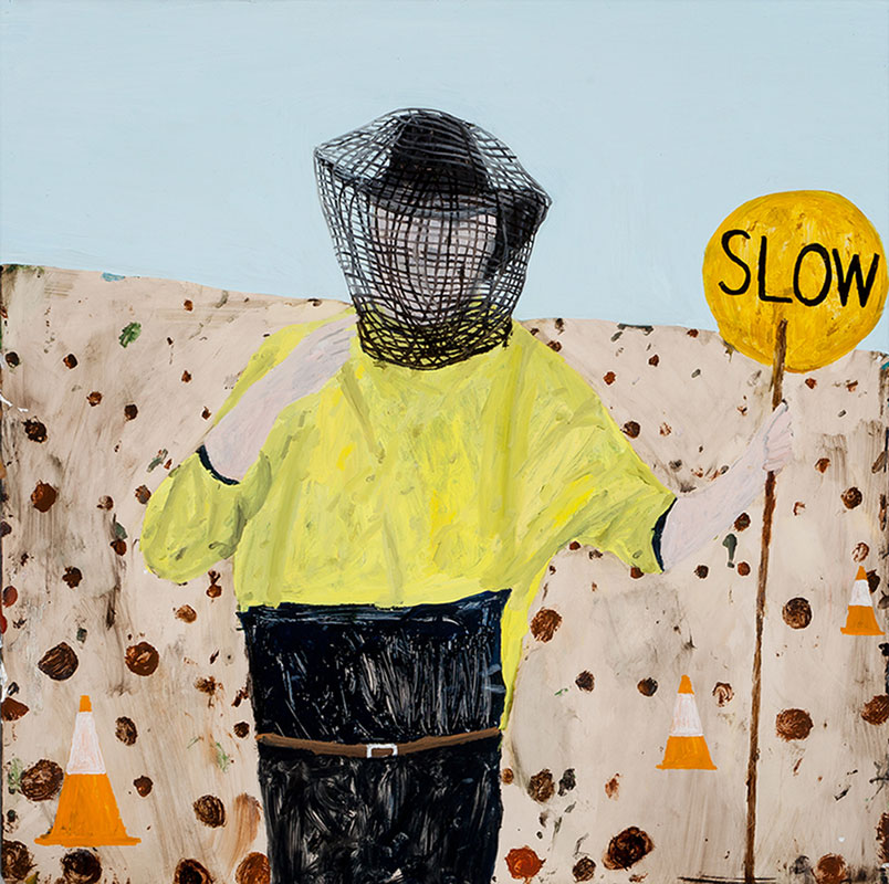 Mostly Sunny, Richard Lewer, Hugo Michell Gallery